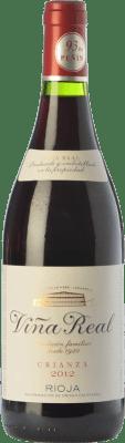 7,95 € Envío gratis | Vino tinto Viña Real Crianza D.O.Ca. Rioja La Rioja España Tempranillo, Garnacha, Graciano, Mazuelo Botella Mágnum 1,5 L