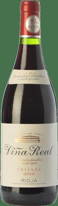 7,95 € Envoi gratuit   Vin rouge Viña Real Crianza D.O.Ca. Rioja La Rioja Espagne Tempranillo, Grenache, Graciano, Mazuelo Bouteille Magnum 1,5 L