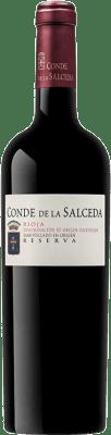 24,95 € Envoi gratuit | Vin rouge Viña Salceda Conde de la Salceda Reserva 2011 D.O.Ca. Rioja La Rioja Espagne Tempranillo, Graciano Bouteille 75 cl