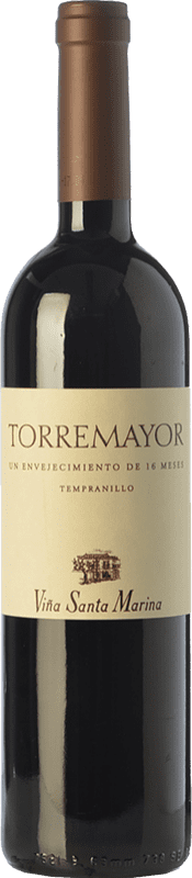 14,95 € Free Shipping | Red wine Santa Marina Torremayor Reserva I.G.P. Vino de la Tierra de Extremadura Estremadura Spain Tempranillo Bottle 75 cl