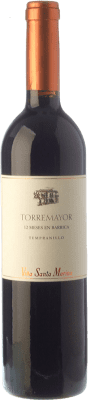 9,95 € Envío gratis | Vino tinto Santa Marina Torremayor Crianza I.G.P. Vino de la Tierra de Extremadura Extremadura España Tempranillo Botella 75 cl
