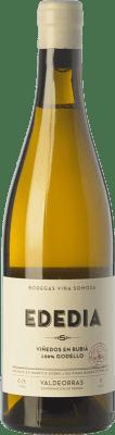 29,95 € Free Shipping | White wine Viña Somoza Ededia Crianza D.O. Valdeorras Galicia Spain Godello Bottle 75 cl