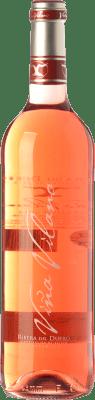 7,95 € Envío gratis | Vino rosado Viña Vilano D.O. Ribera del Duero Castilla y León España Tempranillo Botella 75 cl