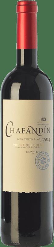 19,95 € Envío gratis | Vino tinto Viñas del Jaro Chafandín Crianza D.O. Ribera del Duero Castilla y León España Tempranillo Botella 75 cl