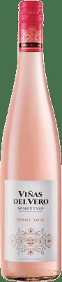 8,95 € Free Shipping | Rosé wine Viñas del Vero D.O. Somontano Aragon Spain Pinot Black Bottle 75 cl