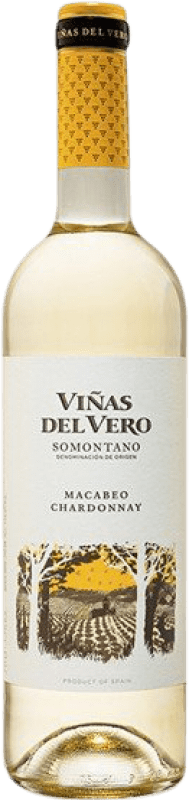 5,95 € Free Shipping   White wine Viñas del Vero Macabeo-Chardonnay Joven D.O. Somontano Aragon Spain Macabeo, Chardonnay Bottle 75 cl