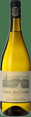 4,95 € Envío gratis | Vino blanco Viñedos de Altura Castelo Dos Condes Joven D.O. Ribeiro Galicia España Palomino Fino Botella 75 cl