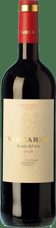 18,95 € Envoi gratuit | Vin rouge Vizcarra Senda del Oro Roble D.O. Ribera del Duero Castille et Leon Espagne Tempranillo Bouteille Magnum 1,5 L