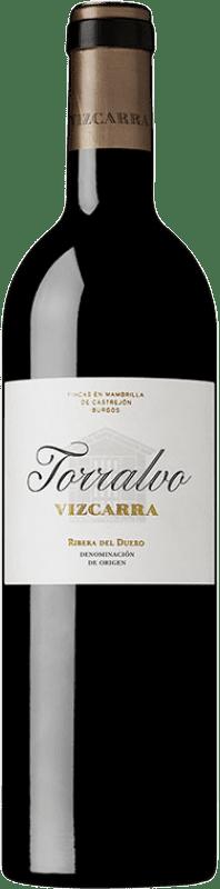 39,95 € Envoi gratuit | Vin rouge Vizcarra Torralvo Crianza D.O. Ribera del Duero Castille et Leon Espagne Tempranillo Bouteille 75 cl