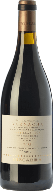 25,95 € Envoi gratuit | Vin rouge Vizcarra Crianza I.G.P. Vino de la Tierra de Castilla y León Castille et Leon Espagne Grenache Bouteille 75 cl