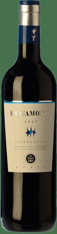8,95 € Free Shipping | Red wine Yllera Bracamonte Roble Joven D.O. Ribera del Duero Castilla y León Spain Tempranillo Bottle 75 cl