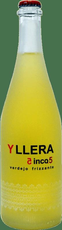 7,95 € Envoi gratuit | Vin doux Yllera Cinco.5 Espagne Verdejo Bouteille 75 cl
