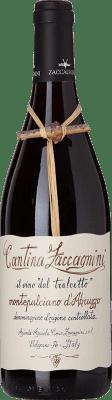 9,95 € Kostenloser Versand | Rotwein Zaccagnini Tralcetto D.O.C. Montepulciano d'Abruzzo Abruzzen Italien Montepulciano Flasche 75 cl