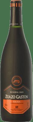 14,95 € Kostenloser Versand | Rotwein Zuazo Gaston Reserva D.O.Ca. Rioja La Rioja Spanien Tempranillo Flasche 75 cl