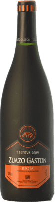 15,95 € Envoi gratuit | Vin rouge Zuazo Gaston Reserva D.O.Ca. Rioja La Rioja Espagne Tempranillo Bouteille 75 cl