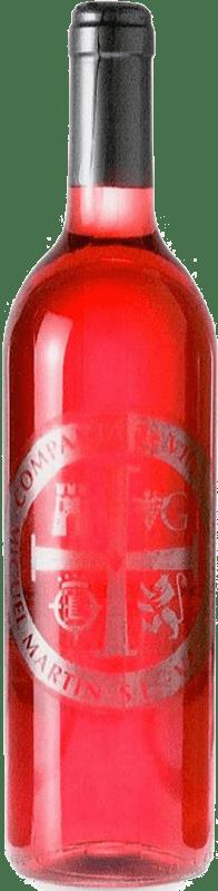 3,95 € Spedizione Gratuita | Vino rosato Thesaurus Cosechero Joven Spagna Tempranillo Bottiglia 75 cl