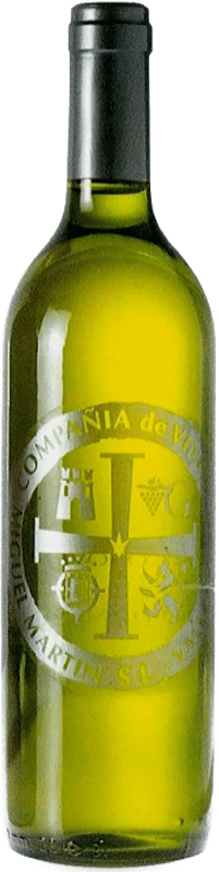 3,95 € Envio grátis | Vinho branco Thesaurus Cosechero Joven Espanha Viura Garrafa 75 cl