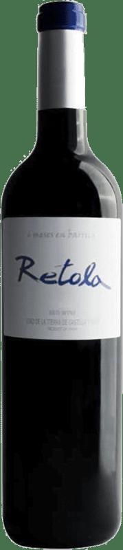 5,95 € 免费送货 | 红酒 Thesaurus Retola Roble 6 Meses Crianza I.G.P. Vino de la Tierra de Castilla y León 卡斯蒂利亚莱昂 西班牙 Tempranillo 瓶子 75 cl