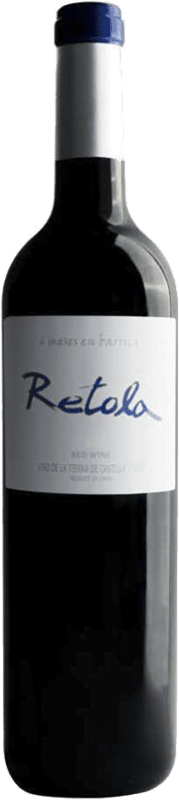 5,95 € Envoi gratuit | Vin rouge Thesaurus Retola 6 Meses Crianza I.G.P. Vino de la Tierra de Castilla y León Castille et Leon Espagne Tempranillo Bouteille 75 cl
