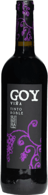 5,95 € Envio grátis | Vinho tinto Thesaurus Viña Goy Crianza D.O. Ribera del Duero Castela e Leão Espanha Tempranillo Garrafa 75 cl