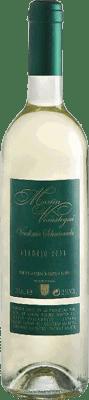 5,95 € Envío gratis | Vino blanco Thesaurus Martín Verástegui Vendimia Seleccionada Joven I.G.P. Vino de la Tierra de Castilla y León Castilla y León España Verdejo Botella 75 cl