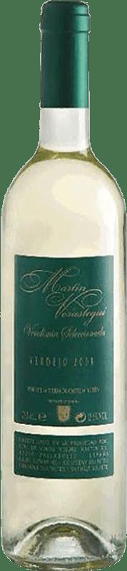 6,95 € Free Shipping | White wine Thesaurus Martín Verástegui Vendimia Seleccionada Joven I.G.P. Vino de la Tierra de Castilla y León Castilla y León Spain Verdejo Bottle 75 cl