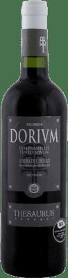 6,95 € Envio grátis | Vinho tinto Thesaurus Flumen Dorium Roble Joven D.O. Ribera del Duero Castela e Leão Espanha Tempranillo Meia Garrafa 50 cl