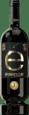 19,95 € 免费送货 | 红酒 Esencias «é» Premiun Edition 12 Meses Crianza I.G.P. Vino de la Tierra de Castilla y León 卡斯蒂利亚莱昂 西班牙 Tempranillo 瓶子 75 cl | 成千上万的葡萄酒爱好者信赖我们,保证最优惠的价格,免费送货,购买和退货,没有复杂性.