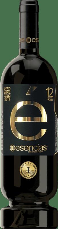22,95 € Spedizione Gratuita | Vino rosso Esencias «é» Premium Edition 12 Meses Crianza 2012 I.G.P. Vino de la Tierra de Castilla y León Castilla y León Spagna Tempranillo Bottiglia 75 cl