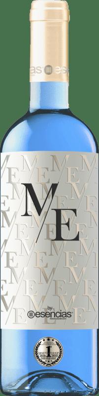 11,95 € Kostenloser Versand | Weißwein Esencias ME&Blue Spanien Chardonnay Flasche 75 cl