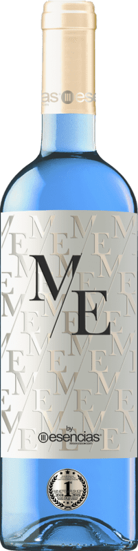 12,95 € Free Shipping | White wine Esencias ME&Blue Spain Chardonnay Bottle 75 cl