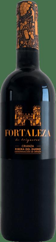 9,95 € Spedizione Gratuita | Vino rosso Thesaurus Fortaleza de Trigueros Crianza D.O. Ribera del Duero Castilla y León Spagna Tempranillo Bottiglia 75 cl