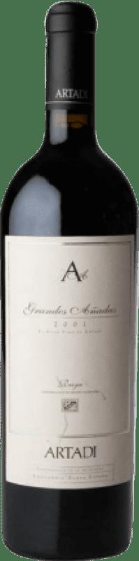 388,95 € Free Shipping   Red wine Artadi Grandes Añadas 2001 D.O.Ca. Rioja The Rioja Spain Tempranillo Bottle 75 cl