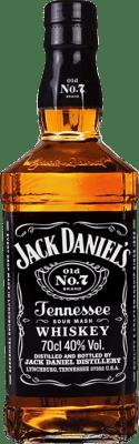 21,95 € Free Shipping | Bourbon Jack Daniel's Bottle 70 cl
