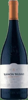17,95 € Free Shipping | Red wine Ramón Bilbao Reserva Original 43 Reserva D.O.Ca. Rioja The Rioja Spain Tempranillo Bottle 75 cl