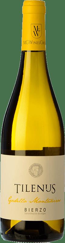 6,95 € Free Shipping | White wine Estefanía Tilenus Monteseiros D.O. Bierzo Castilla y León Spain Godello Bottle 75 cl