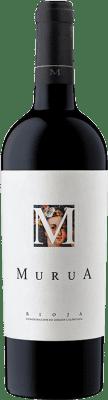 25,95 € Free Shipping | Red wine Murua M de Murua D.O.Ca. Rioja The Rioja Spain Tempranillo, Graciano, Mazuelo Bottle 75 cl