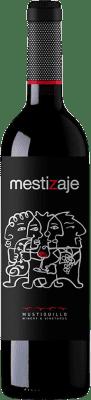 18,95 € Free Shipping   Red wine Mustiguillo Mestizaje D.O.P. Vino de Pago El Terrerazo Spain Tempranillo, Merlot, Syrah, Cabernet Sauvignon, Bobal Magnum Bottle 1,5 L