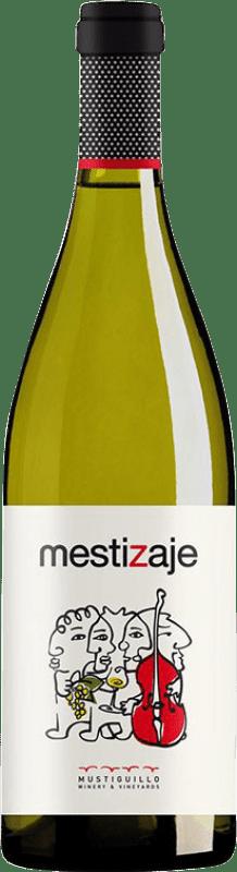 16,95 € Free Shipping   White wine Mustiguillo Mestizaje Blanco D.O.P. Vino de Pago El Terrerazo Spain Malvasía, Viognier, Merseguera Magnum Bottle 1,5 L