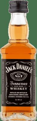 1,95 € Free Shipping | Bourbon Jack Daniel's Small Bottle 5 cl