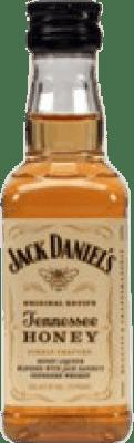 1,95 € Free Shipping | Bourbon Jack Daniel's Honey Small Bottle 5 cl