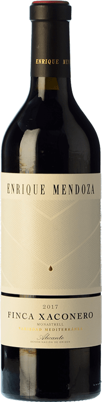 13,95 € Free Shipping | Red wine Enrique Mendoza Finca Xaconero Monastrell D.O. Alicante Valencian Community Spain Syrah, Grenache, Monastrell Bottle 75 cl