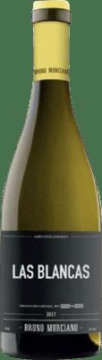 9,95 € Free Shipping | White wine Murciano & Sampedro Las Blancas D.O. Utiel-Requena Spain Malvasía, Muscat, Macabeo, Merseguera Bottle 75 cl