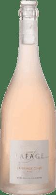 15,95 € Free Shipping | Rosé wine Domaine Lafage la Grande Cuvée Crianza Otras A.O.C. Francia France Grenache, Monastrell, Grenache Grey Bottle 75 cl