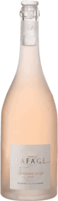 14,95 € Envío gratis | Vino rosado Domaine Lafage la Grande Cuvée Crianza Otras A.O.C. Francia Francia Garnacha, Monastrell, Garnacha Gris Botella 75 cl