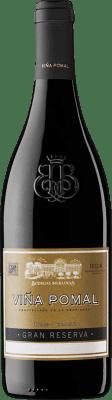 28,95 € Envoi gratuit | Vin rouge Bodegas Bilbaínas Viña Pomal Gran Reserva 2011 D.O.Ca. Rioja La Rioja Espagne Tempranillo, Graciano, Mazuelo, Carignan Bouteille 75 cl