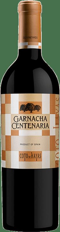 8,95 € Free Shipping | Red wine Bodegas Aragonesas Coto de Hayas Centenaria Crianza D.O. Campo de Borja Aragon Spain Grenache Bottle 75 cl