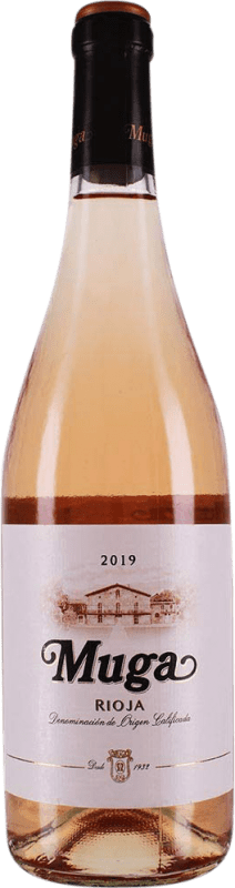11,95 € Free Shipping | Rosé wine Muga Rosat Joven D.O.Ca. Rioja The Rioja Spain Tempranillo, Grenache, Macabeo Bottle 75 cl