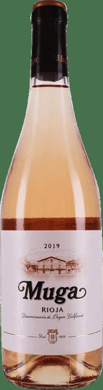 11,95 € Spedizione Gratuita | Vino rosato Muga Rosat Joven D.O.Ca. Rioja La Rioja Spagna Tempranillo, Grenache, Macabeo Bottiglia 75 cl