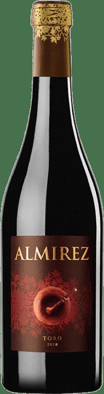 39,95 € Envío gratis | Vino tinto Teso La Monja Almirez Crianza D.O. Toro Castilla y León España Tempranillo Botella Mágnum 1,5 L
